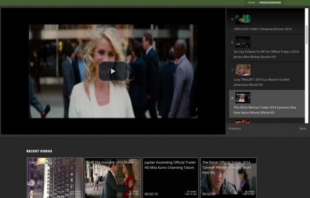 Demo – Video Share VOD